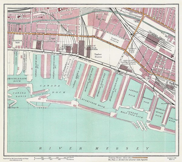 Liverpool Old Street Map