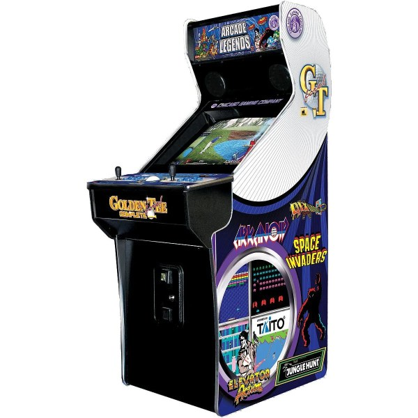 Chicago Gaming Arcade Legends 3 Arcade Game with 130 Games and     chicago gaming arcade legends 3 arcade game with