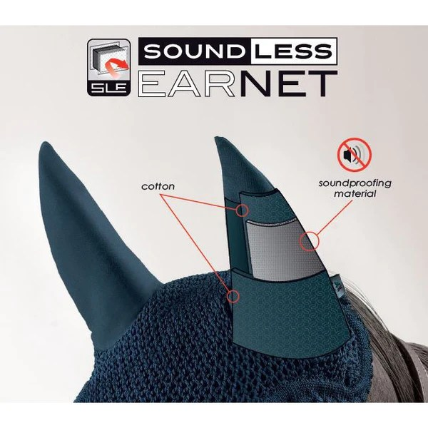 Equiline Soundless Ear Bonnets Exceptional Equestrian