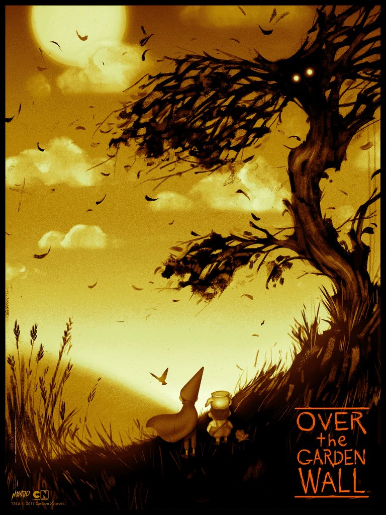 Over the Garden Wall by Sam Wolfe Connelly – Mondo