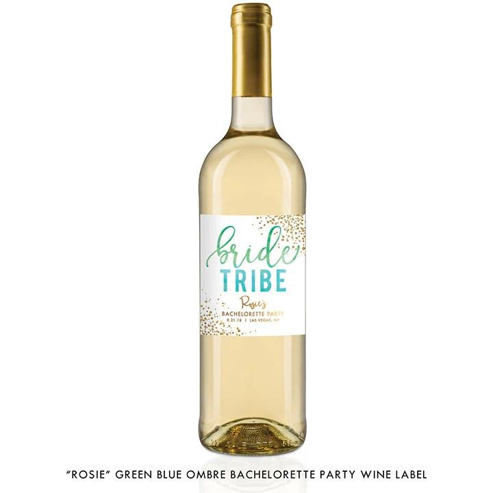 Wine Save Date Address Labels
