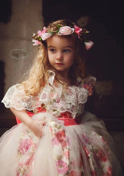 Flower Girl Dresses Silver Black And