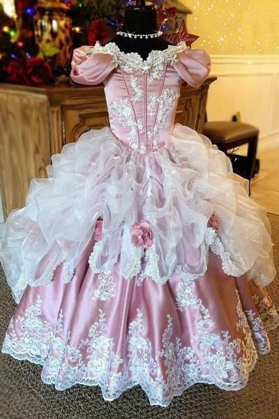 Quot Ballroom Dreams Quot A Stunning Girls Ballgown
