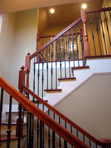 Create An Interesting And Dynamic Staircase With Wrought Iron | Wrought Iron Baluster Designs | Rot Iron Staircase | Rod Iron | Metal Rail | Stair Railing | Replacement