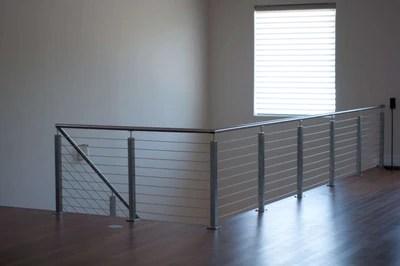 1 2 3 Tubular Stainless Steel Handrail E001 E4801 Stair | Tubular Stair Railings Design | Mid Century Modern | Simple | Home Tower | Welded | Creative