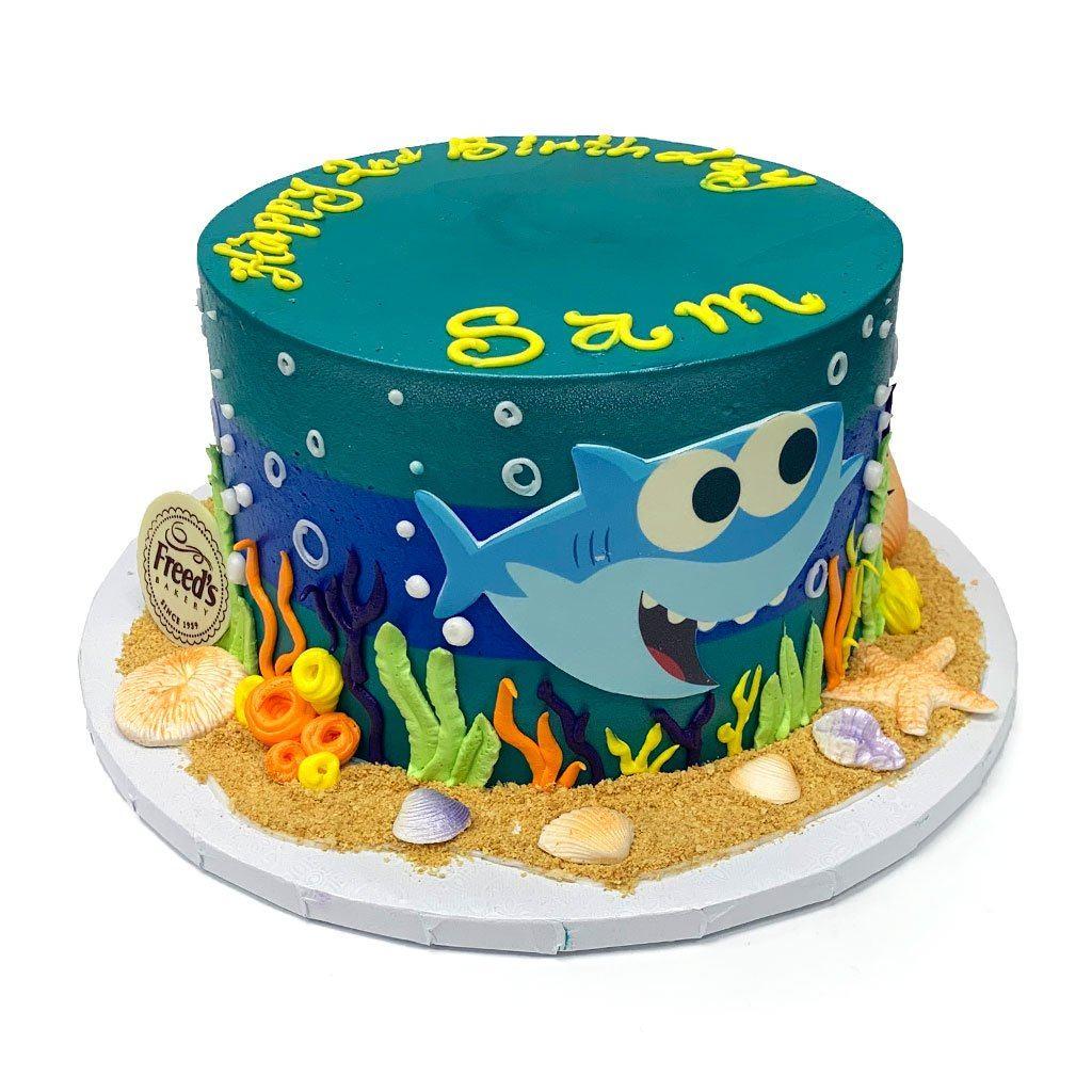 Baby Shark Cake Freed S Bakery