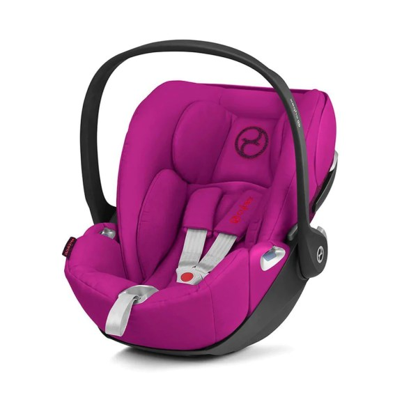 Cybex Cloud Z i Size Car Seat in Passion Pink     Natural Baby Shower Cybex Cloud Z i Size Car Seat   Passion Pink