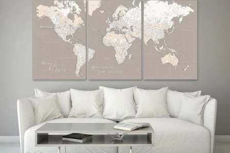 Large world map canvas 4k pictures 4k pictures full hq wallpaper large world map vintage printed canvas wall art pictures ebay image is loading large world map vintage printed canvas wall art personalized large highly gumiabroncs Image collections