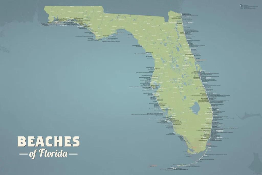 Northeast Florida Beaches Map.Map Northeast Florida Beach Resorts