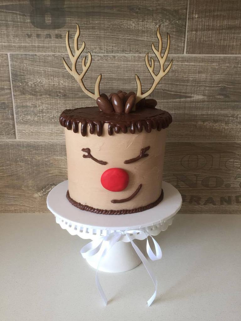 Reindeer Antler Cake Topper Christmas Toppers Cakers