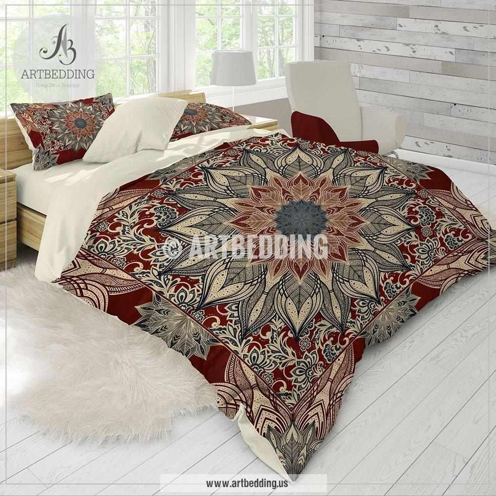 Mandala Bedding Personalized Bohemian Amp Mandala Bedding