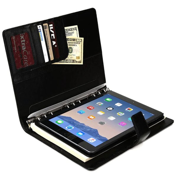 Leather Ipad Mini Case Notepad