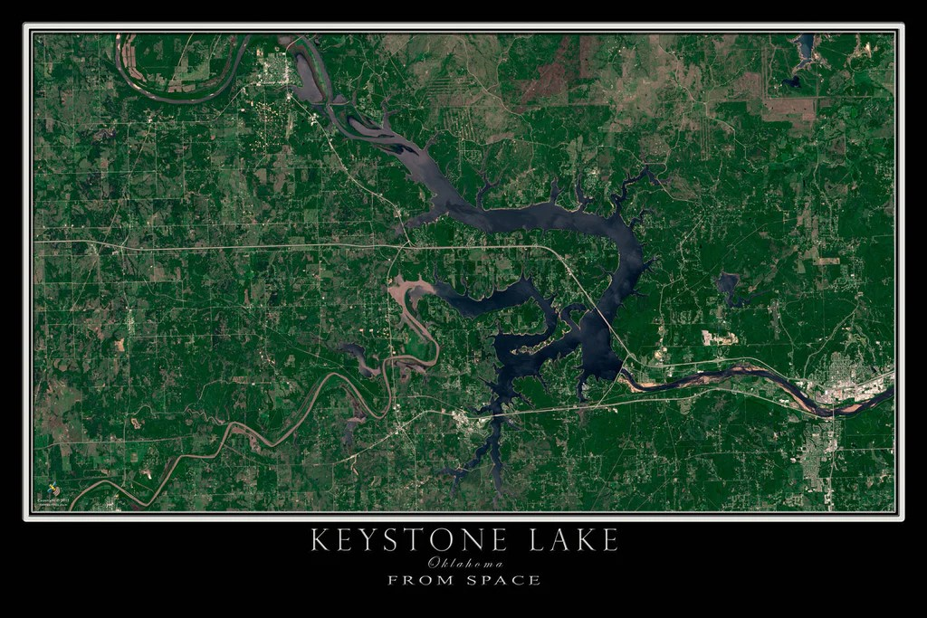 Topographic Maps Georgia Lakes