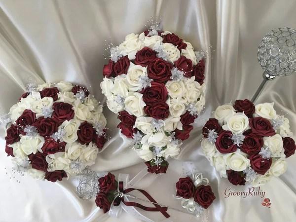 Bouquet Glitter Bridesmaid