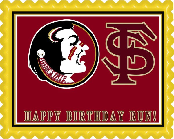 Florida State Seminoles Edible Birthday Cake Or Cupcake