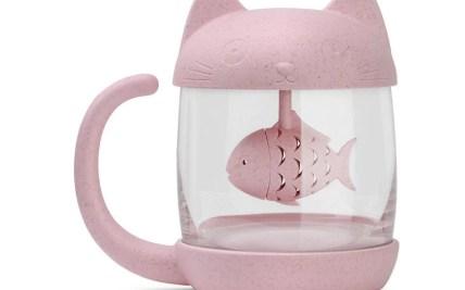 d85cfe4579a PinkGrey Kawaii Kitty Fish Mug SP1710163 SpreePicky