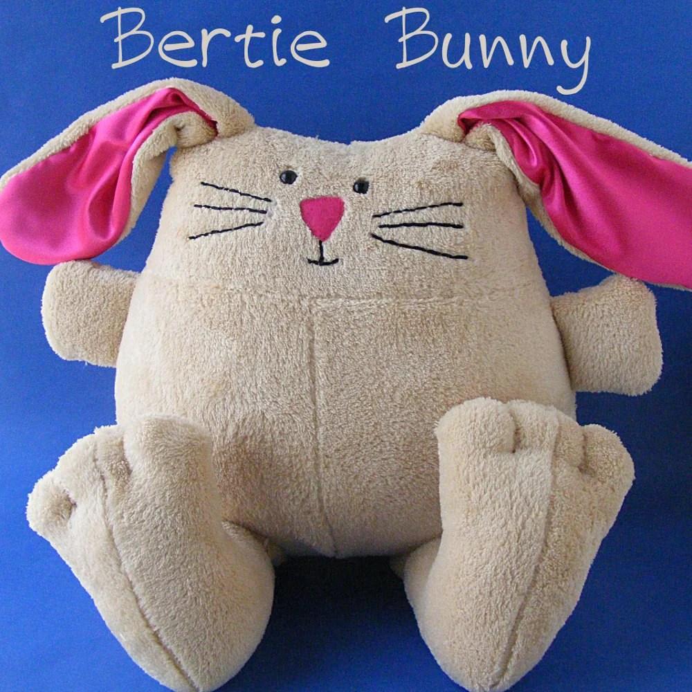 Patterns Bunny Felt Sew