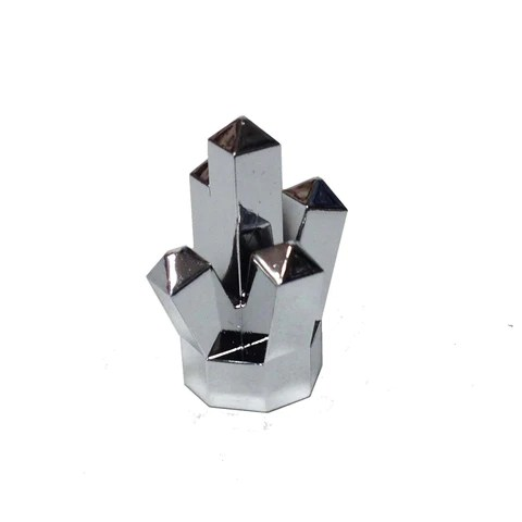 Lego Parts  Rock 1 x 1 Crystal  5 Point   Chrome Silver      Wholesale     Lego Parts  Rock 1 x 1 Crystal  5 Point   Chrome