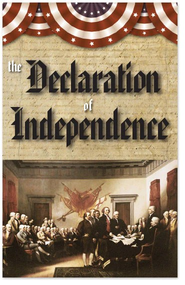 Gospel Tract Declaration Of Independence Moments With