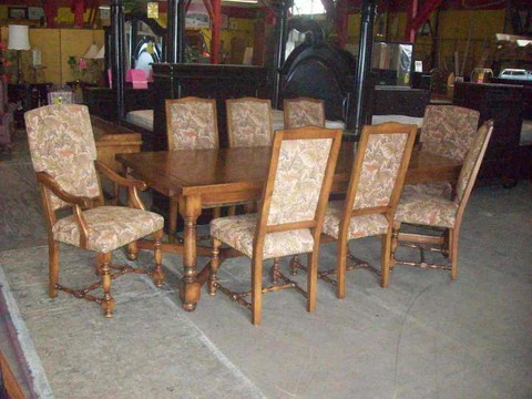 Today s Amazing Find  Dining table 8 chairs 16871   2657   Reduced     Today s Amazing Find  Dining table 8 chairs 16871   2657   Reduced      amazingfindsredding