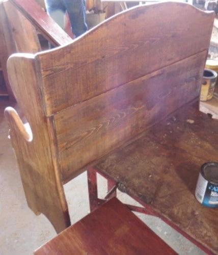 Deacon Bench Pennsylvania Dutch Antique Reclaimed Barn