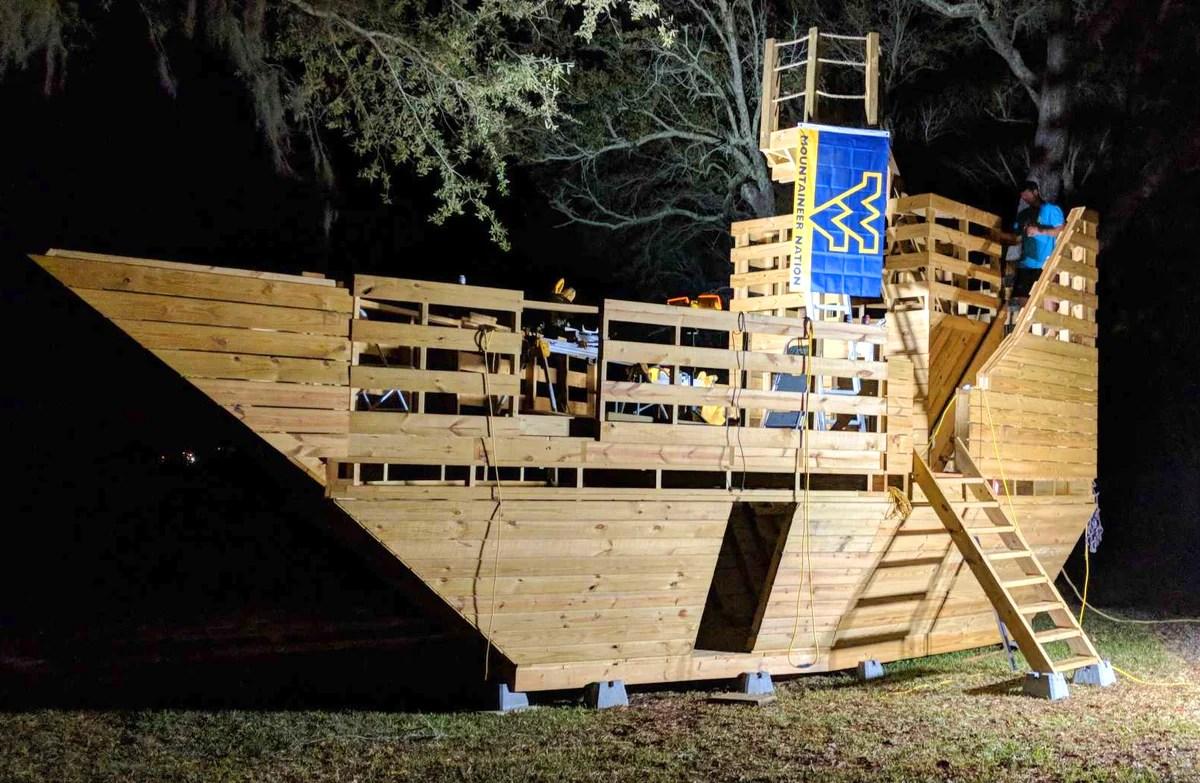 High Seas Pirate Ship Plan Large 400ft 178 Wood Plan For
