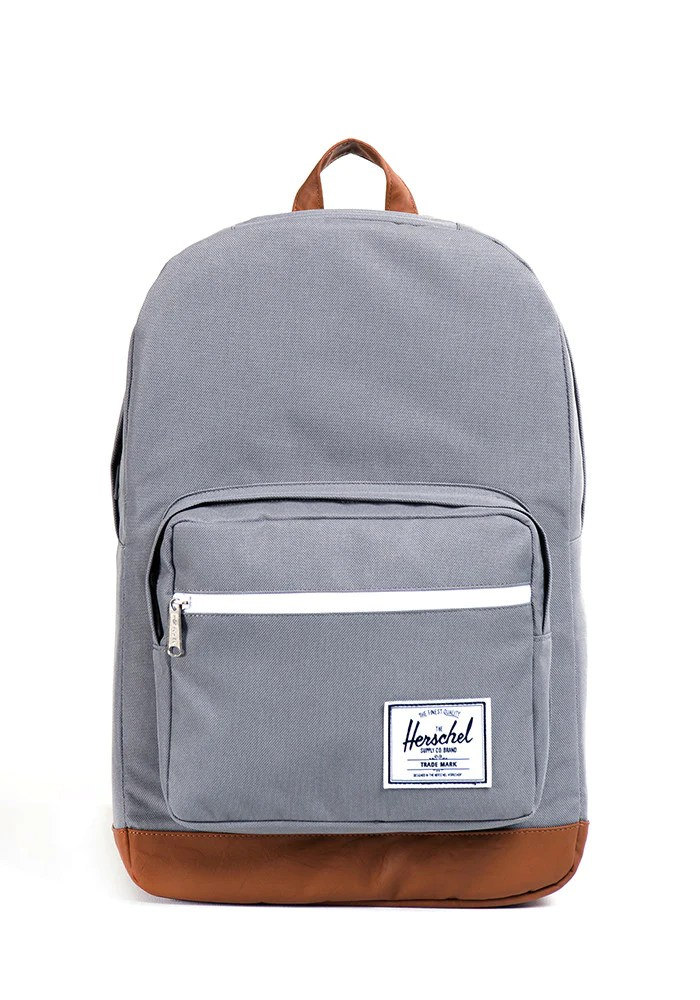 Herschel Supply Co.-Pop Quiz Grey Backpack|Newbury Comics