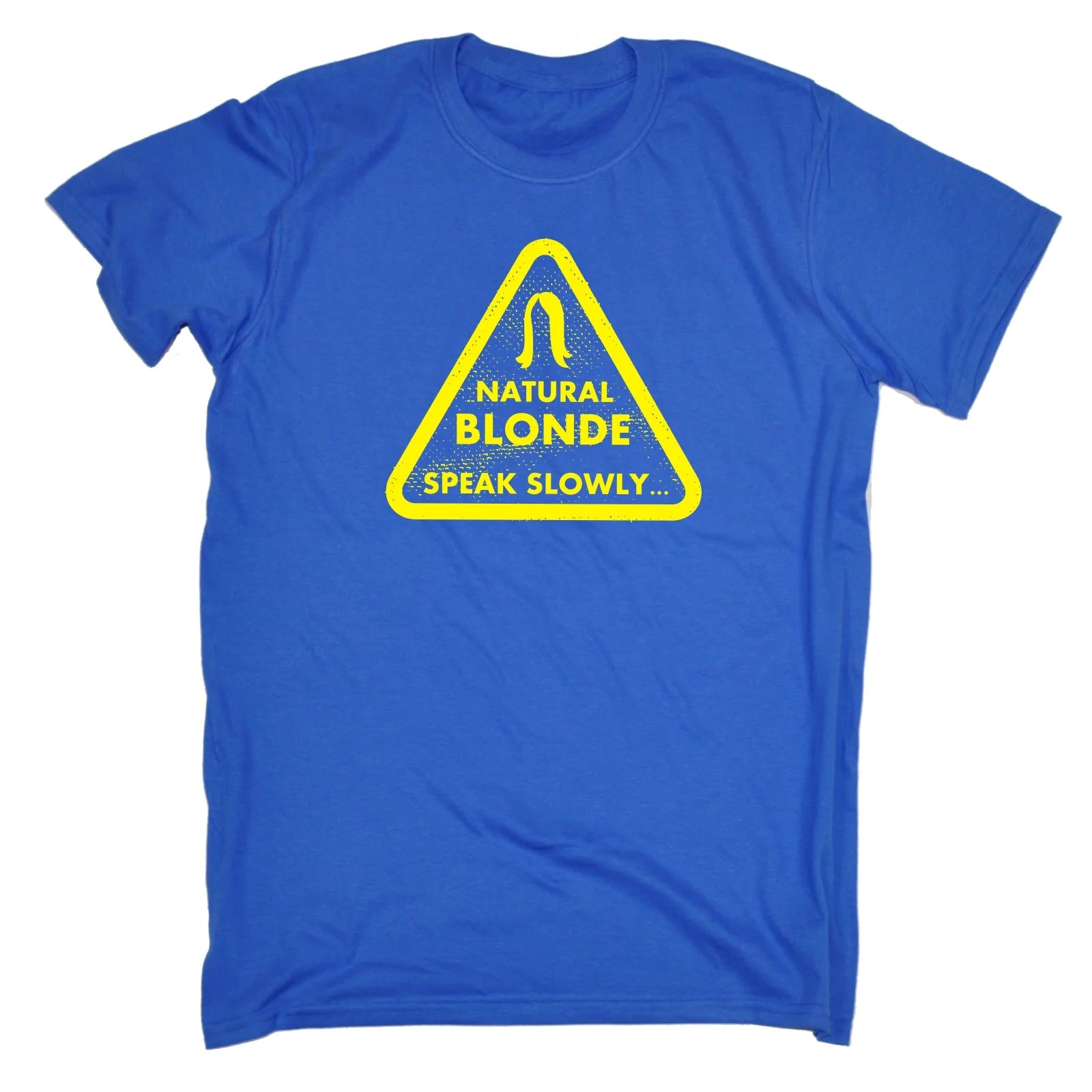 Funny Blonde T Shirts