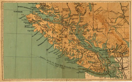 Products     Skookum Prints 1800 s Map of Vancouver Island