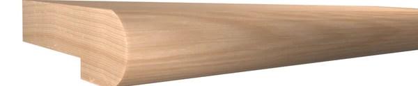 Red Oak Stair Landing Tread Slt 516 102 1 Ro 6 40 Ft | Red Oak Stair Treads | Non Slip | Bullnose Manufacturing | Modern | Dark Stain | Wood