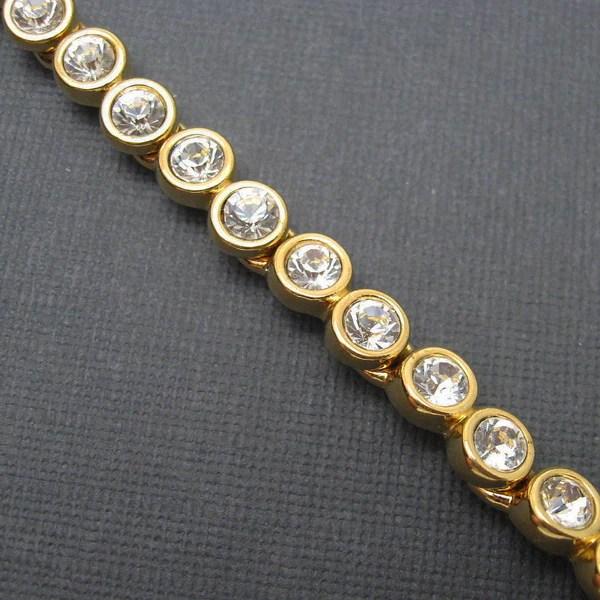 Sold Swarovski Tennis Bracelet Crystal Jewelry Purple