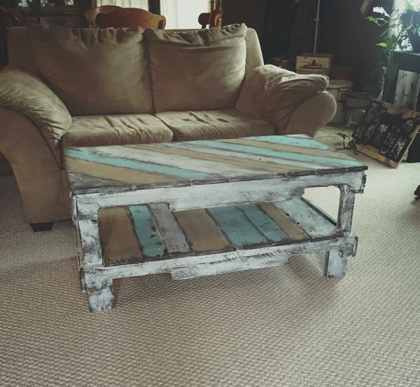 Coffee Table Multi Color S Amp S Pallet Creations Llc