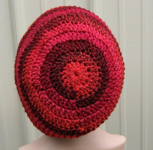 Deep V Crochet Hat Pattern