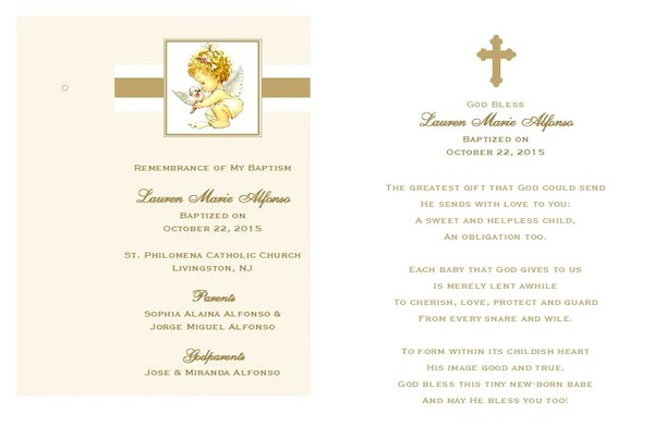 Create Invitation Card Christening