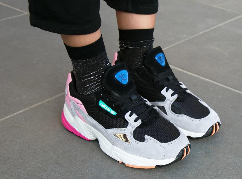 ead9e8279df392 Adidas Falcon 2018 Pink And Black