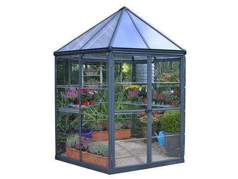 Oasis Hexagonal Greenhouse World Of Greenhouses