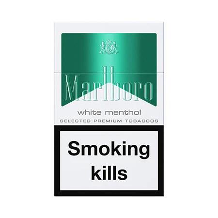 Marlboro Green Menthol King Size Cigarettes Pack of 20 ...