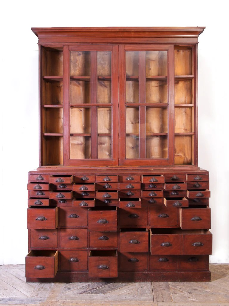 Apothecary Cabinet Drew Pritchard Ltd