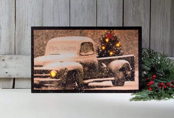 Christmas Canvas Wall Decor