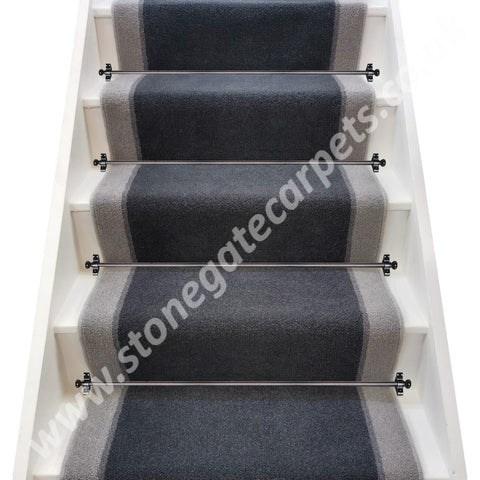 Victoria Carpets Executive Tweed Sand Stair Runner Per M   Tweed Carpet For Stairs   Adam   Modern   Mustard   Hard Wearing   Wool