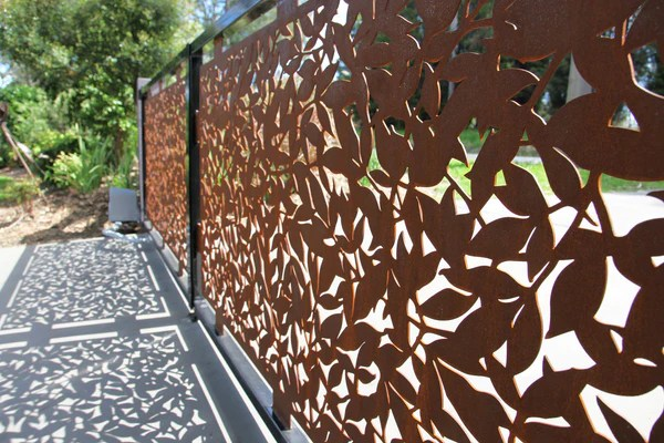 Laser Cut Driveway Gate Enfrex Designs