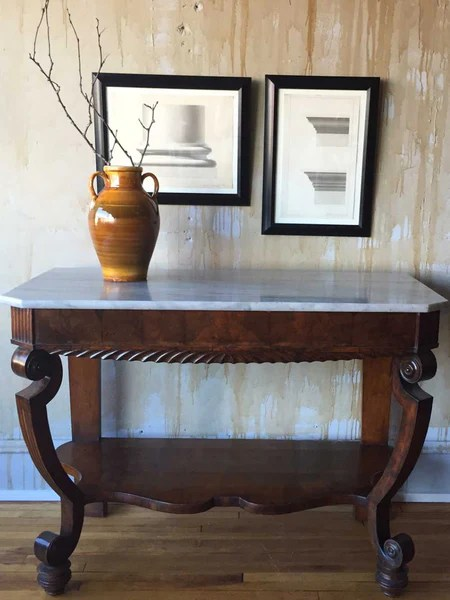 Antique Italian Entry Hall Table