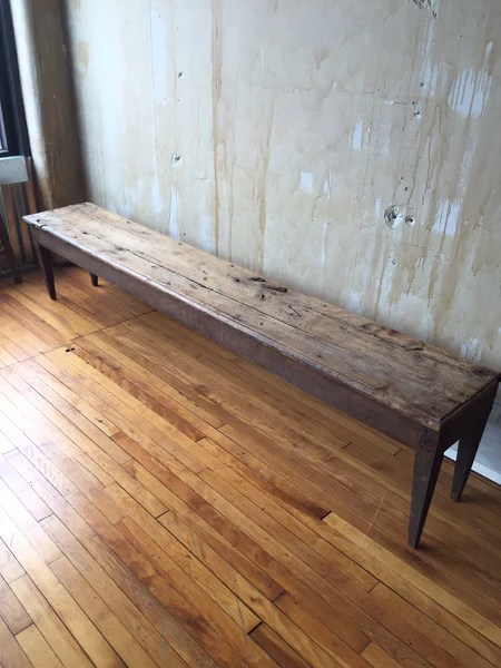 Sold Rustic Tuscan Bench