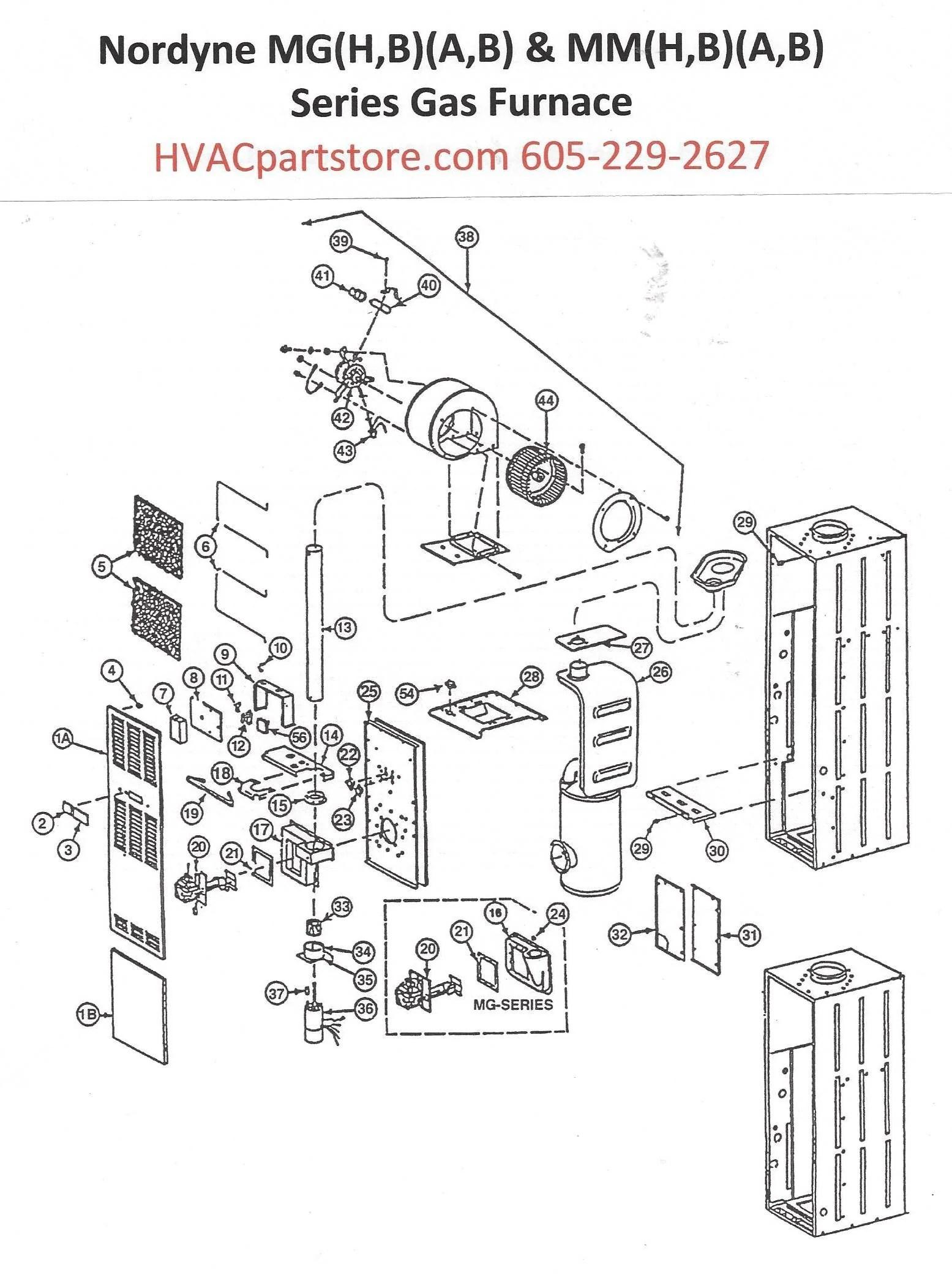 Rheem Gas Furnace Parts Manual