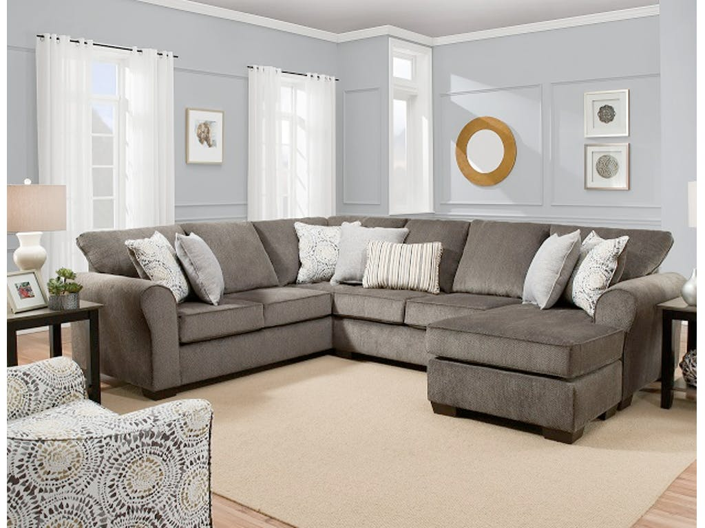 Sectionals     Affordable Furniture Source Harlow Sectional