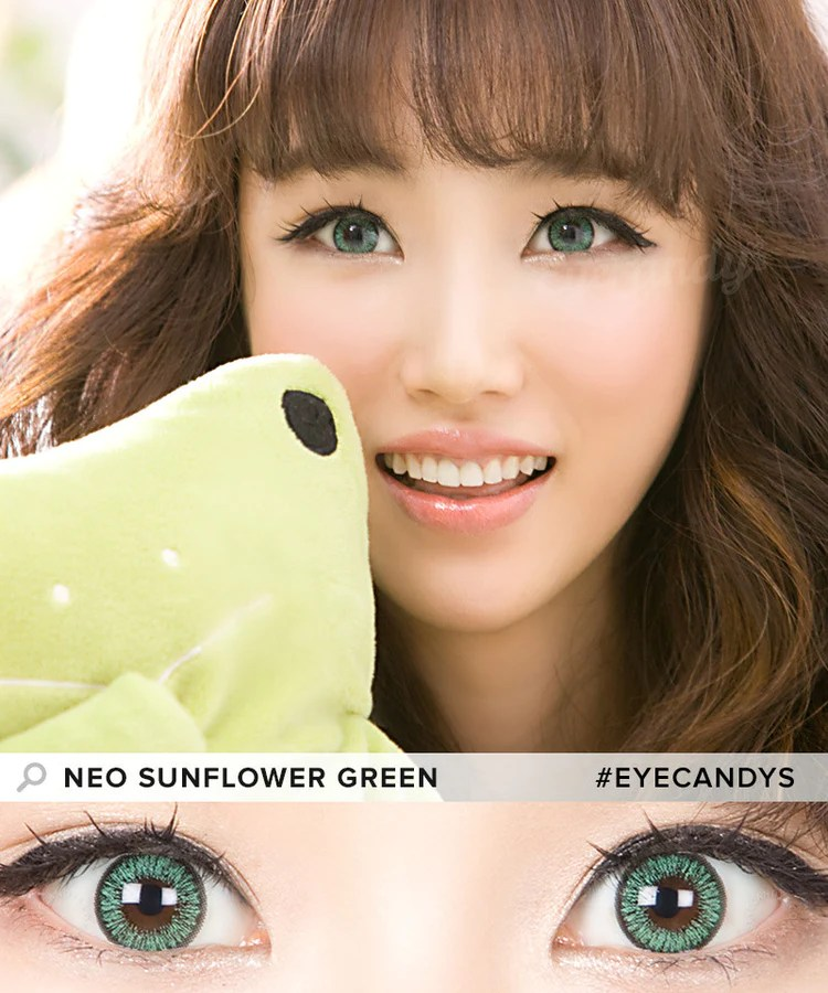 1c1661312ed Buy Neo Sunflower Green Colored Contacts Eyecandys