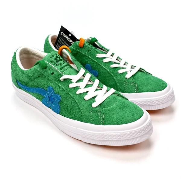 Converse x Golf Wang - Jolly Green 'Golf Le Fleur' One ...