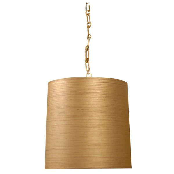 Yellow Drum Pendant Lighting