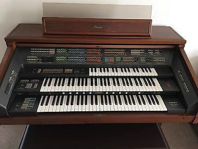 Yamaha Fx 20 Electone Organ With Lower Upper Amp Solo