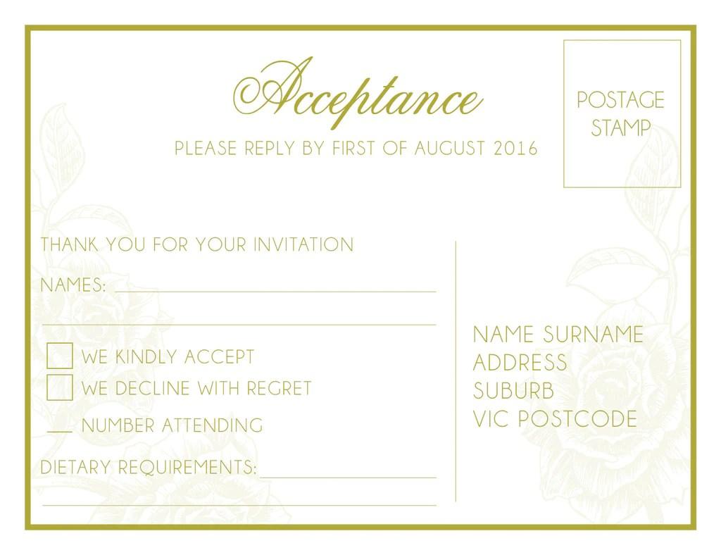 Cheap Wedding Invitations Melbourne